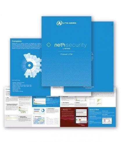 Depliant NethSecurity - Personalizzati con il tuo logo